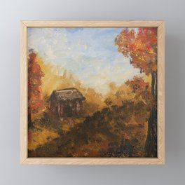 Autumn Forest Framed Mini Art Print