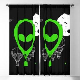 UFO Balloon Blackout Curtain