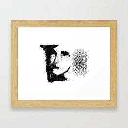 Caco de vidro Framed Art Print