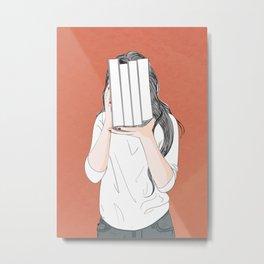 Student 1 Metal Print