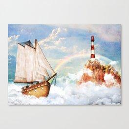 Hi-sky trip Canvas Print