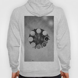 Coffee Circle (Black and White) Hoody