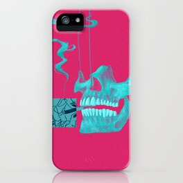 First time Smoker iPhone Case
