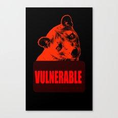 Vulnerable Fossa Canvas Print