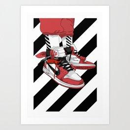 Jordan I Off White Art Art Print