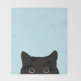 Black cat I Decke