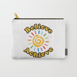 Believe. Achieve Carry-All Pouch