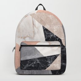 Marble geometry Backpack