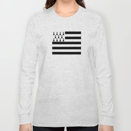 Flag of brittany Long Sleeve T-shirt