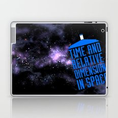 Doctor Who: The Tardis! Time and Relative Dimension in Space Laptop & iPad Skin