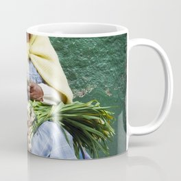Vegetable and Fruit vendor, Cuenca, Ecuador Coffee Mug