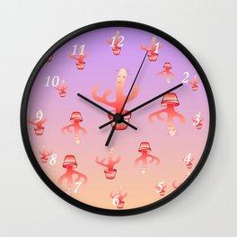 Cactus Girls Wall Clock