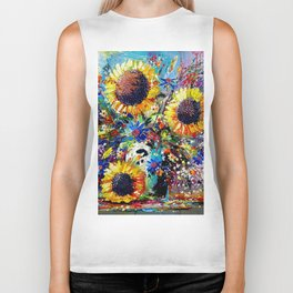 Sunshine and Splendour Biker Tank