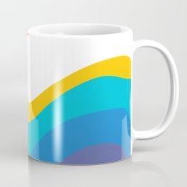 Abstract Y Minimum Colorful Pattern Coffee Mug