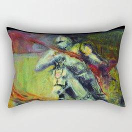 Caballero del tiempo Rectangular Pillow