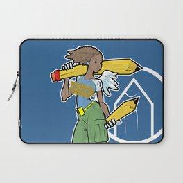 Pencil Warrioress Laptop Sleeve