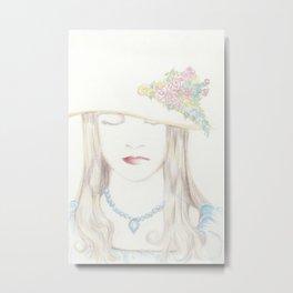noblewoman Metal Print