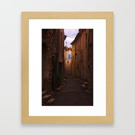 French street Framed Art Print
