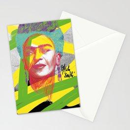 La Frida de Khalo Stationery Cards