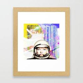 astronaut norma jeane Framed Art Print