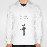 steve jobs Hoodies featuring JOBS by Nihonjin Estudio