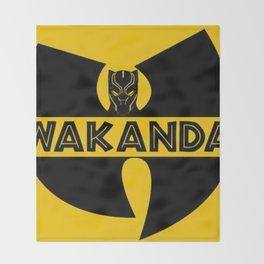 Wu-Tang Kanda 2 Throw Blanket