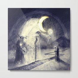Mōnan Blétsung - Moon Blessings Metal Print