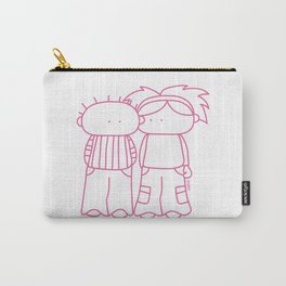 Rosy Love Carry-All Pouch