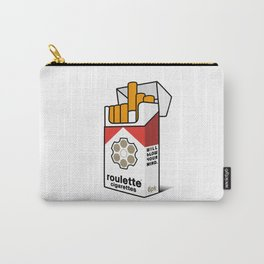 Roulette Cigarettes Carry-All Pouch