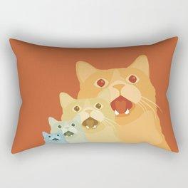 Shock and Awww Rectangular Pillow