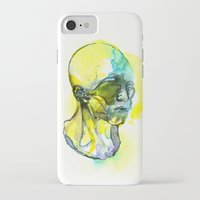 dna iPhone & iPod Cases featuring DNA by Chen Li