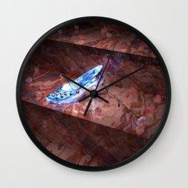 Cinderella's Little Glass Slipper Wall Clock