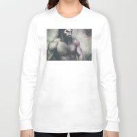"dragon age Long Sleeve T-shirts featuring Dragon Age Inquisition - Blackwall by Barbara ""Yuhime"" Wyrowińska"