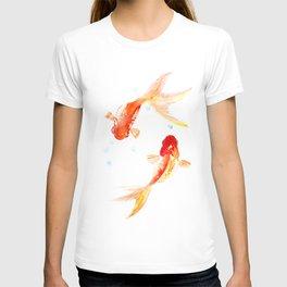 Goldfish, Two Koi Fish T-shirt