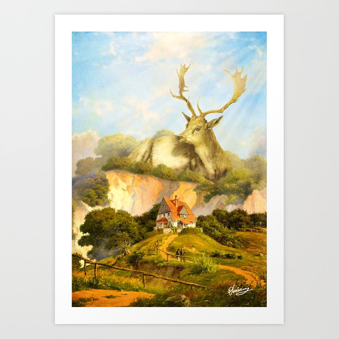 The Guardian Art Print