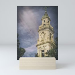 Bell Tower of the Sanctuary of the Blessed Virgin of the Rosary Mini Art Print