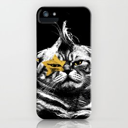 Menace to Society iPhone Case