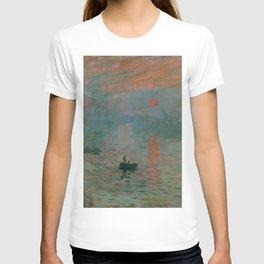 "Claude Monet ""Impression, Sunrise"" T-shirt"