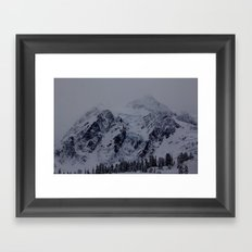 Glacial Blue Framed Art Print