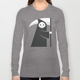 black robe death Long Sleeve T-shirt
