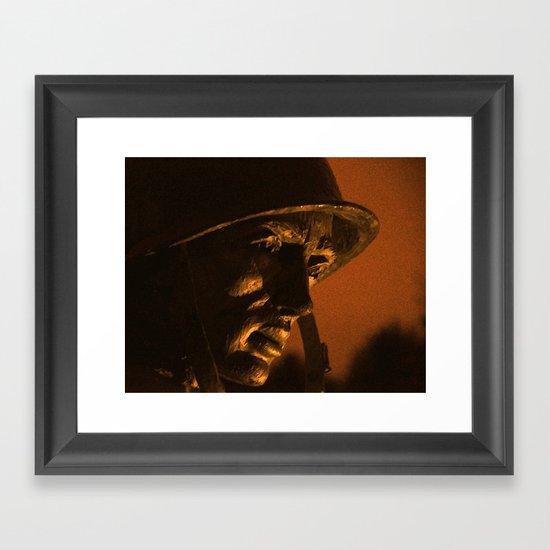 The Soldier's Heart Framed Art Print