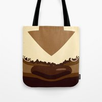 appa Tote Bags featuring Sky Bison by sophistry