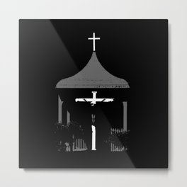 Roadside Shrine Metal Print