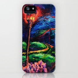 """""""The Crossroad"""" Painting iPhone Case"""