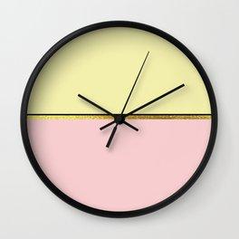 The Minimalist: Pastels Wall Clock