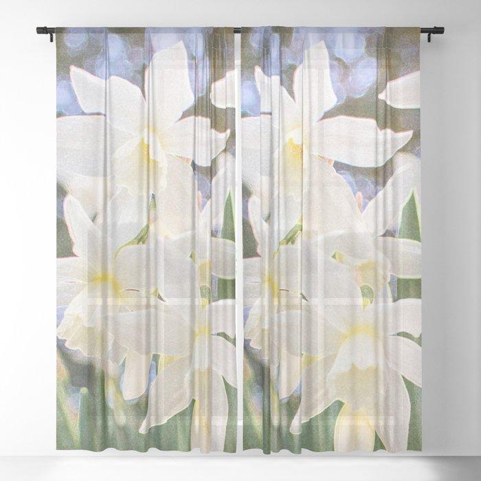 Kiss of Spring Sheer Curtain