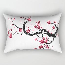 Chery blossoms Rectangular Pillow