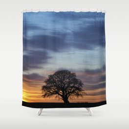 Hello Goodbye Shower Curtain