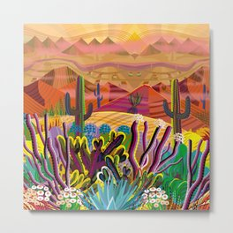 Paradise Valley Metal Print