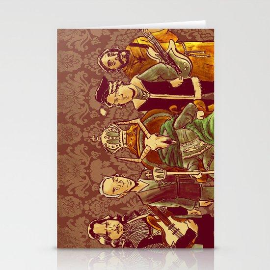 """King Animal"" by Dmitri Jackson Stationery Cards"